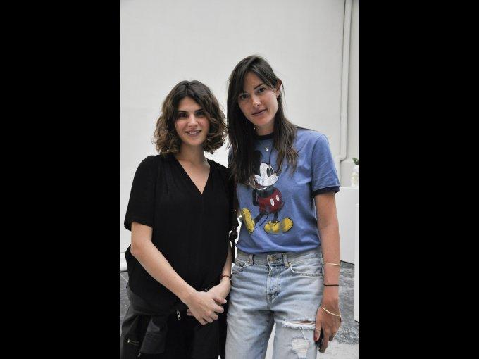 Andrea Aboumrad y Alejandra Felix