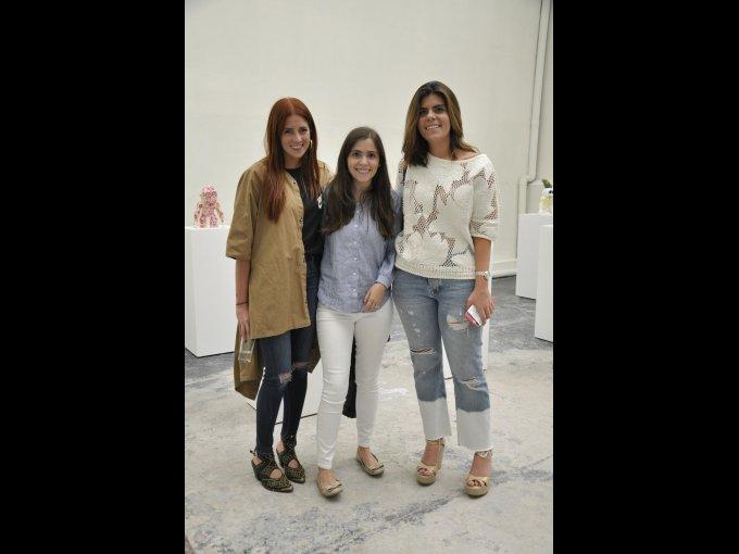 Paola Quintero, Isabel Díaz y Fernanda Haro
