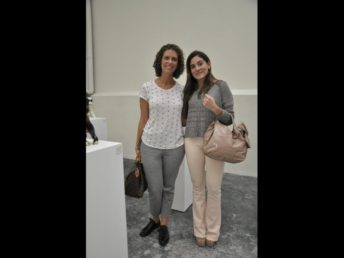 Lucy Aiza y Eileen Guerrero