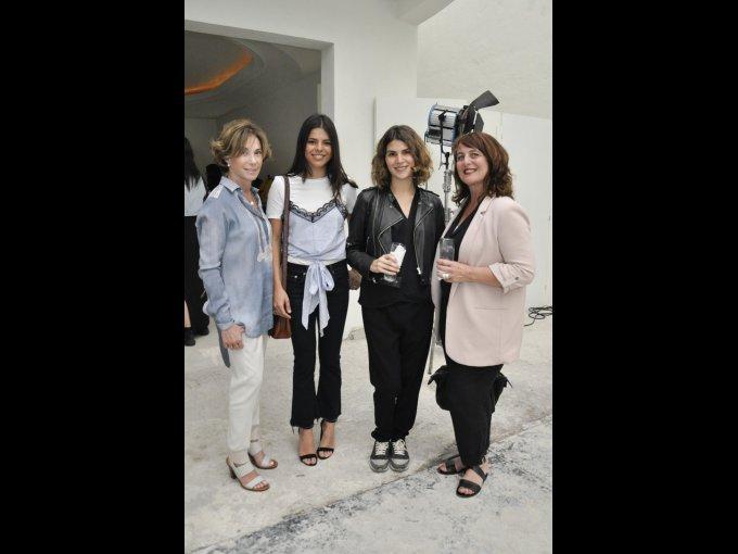 Angelines Vega, Miren de Abiega, Andrea Aboumrad y Pascale Tits