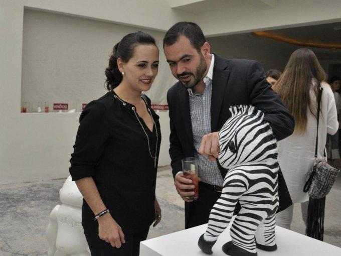 Lorena Chávez y Fernando Váldes