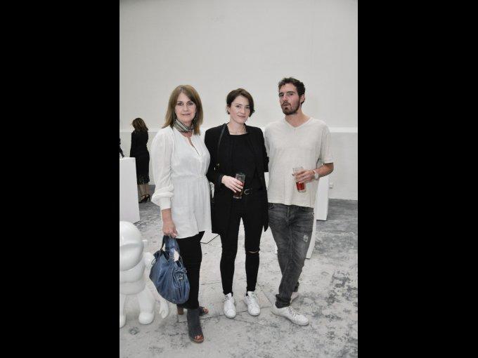 Montse Vildosola, Monse Balmori y Eusebio Balmori