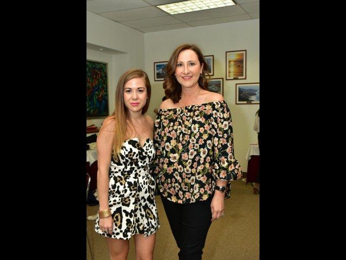 Daniela Reyes y Angélica Cetto