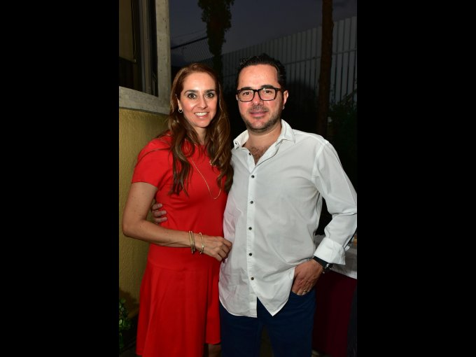 Ana Laura Yaber y Alejandro Yaber