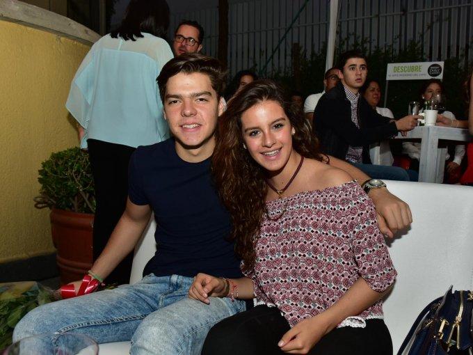 Emilio Pineda y Valeria García