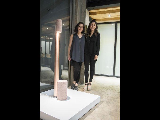 Paloma Guerra y Pamela Hidalgo, quienes forman parte del Studio Davidpompa