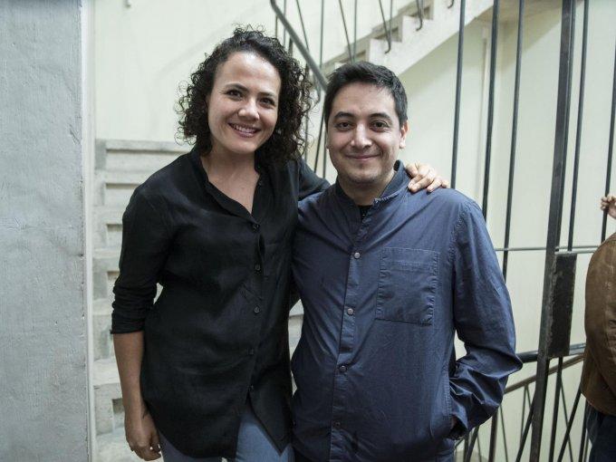 Montserrat Castañón y Moisés Hernández