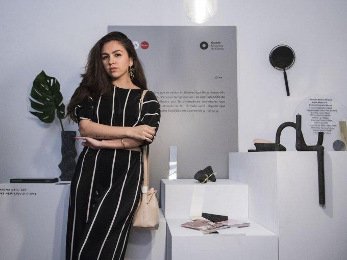 Carolina Cantú es cofundadora del estudio C37 y propone materiales alternos
