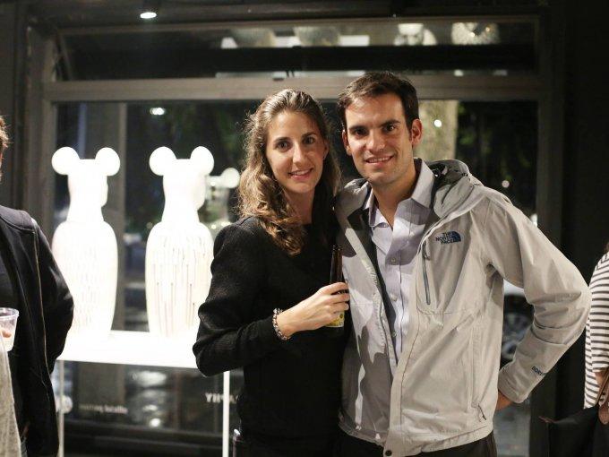 Mercedes Rivero y Bernardo Damm