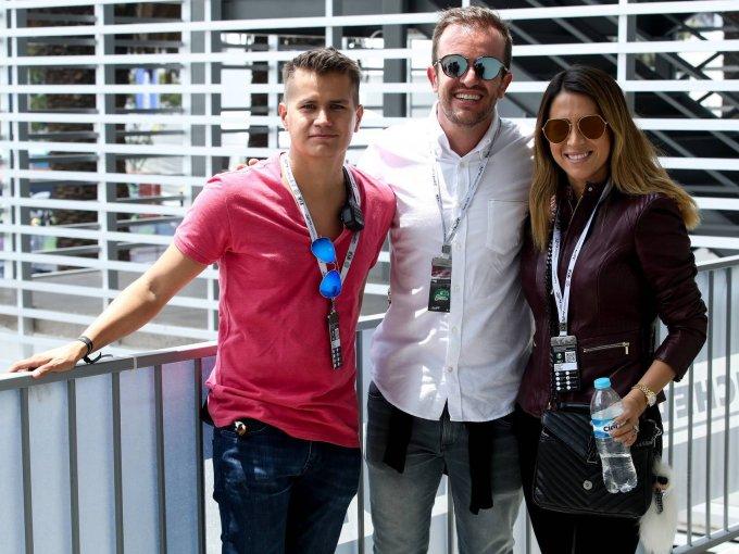 Carlos Mendoza, Juan Pablo Urrutia y Paulina Álvarez