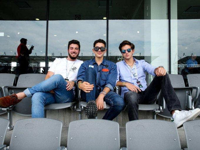 Fernando Román, Ricardo González y Javier Ortiz