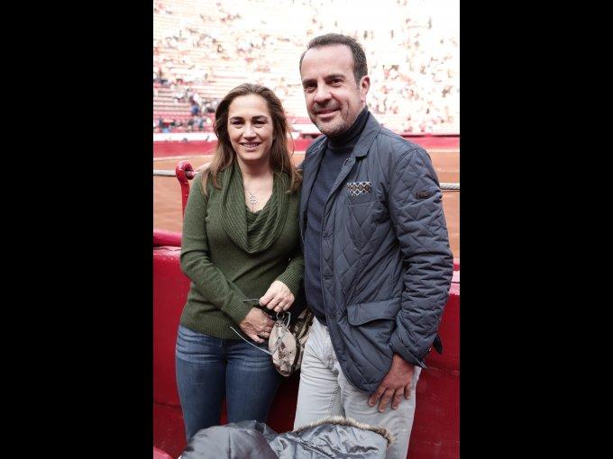 Patricia Vázquez del Mercado y Andrés Vázquez del Mercado
