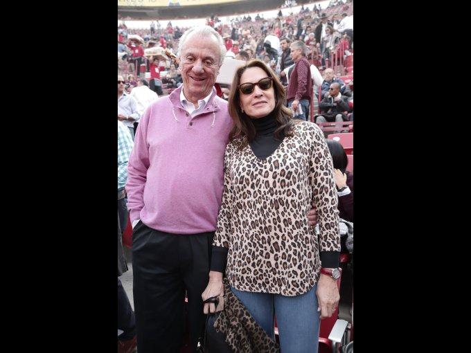 Pedro Sáez y Gloria Sáez