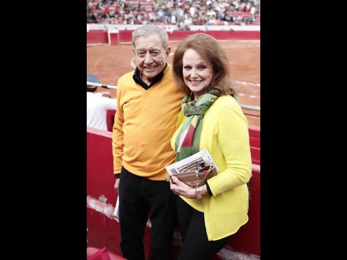 Miguel Alemán y Christiane Magnani