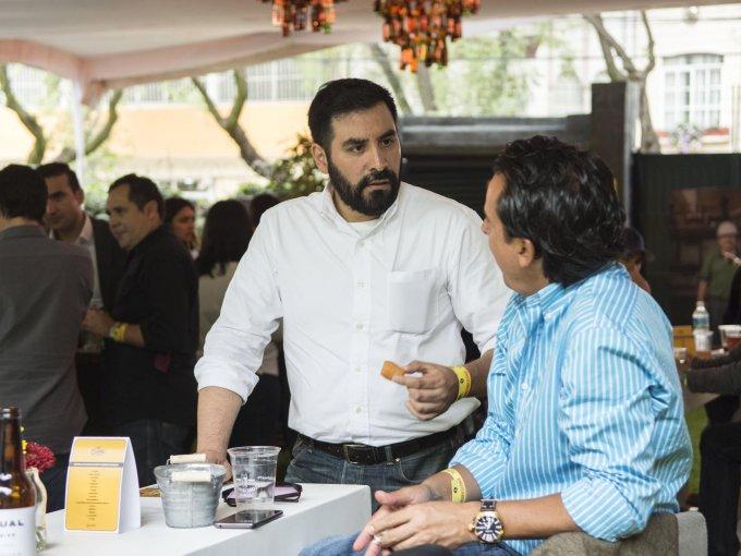 Manuel Cedillo y Dante Altieri