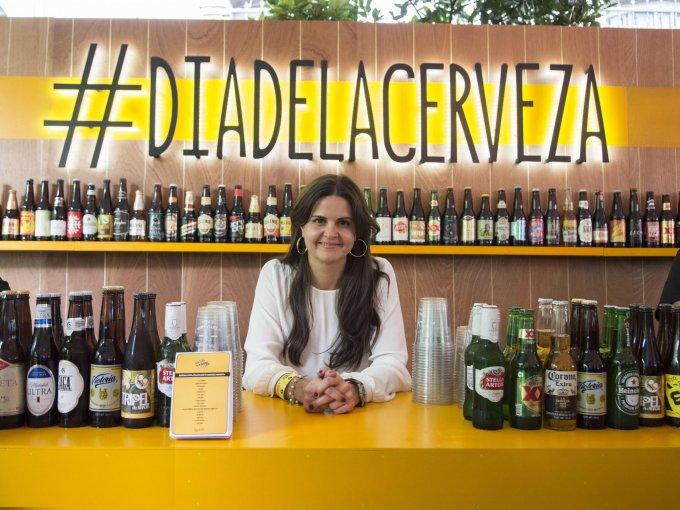Maribel Quiroga celebra en grande a la cerveza mexicana