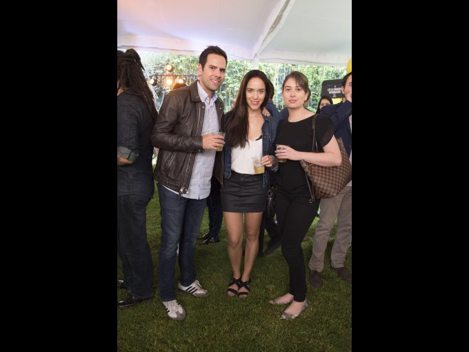 Federico Bueno, Adriana Leal y Andrea Pérez Figueroa