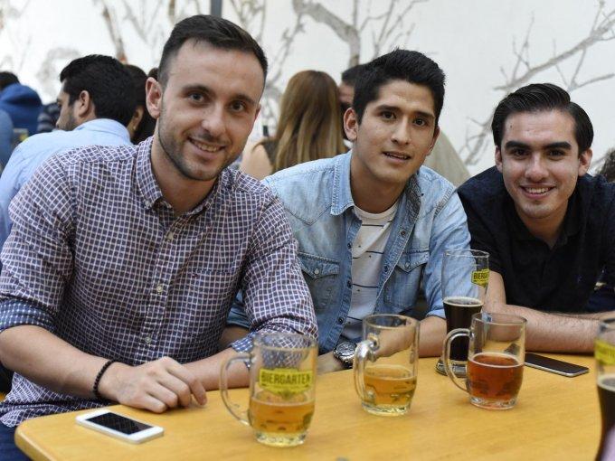 Luis Tolosa, Octavio Yamamoto y Diego Guadarrama