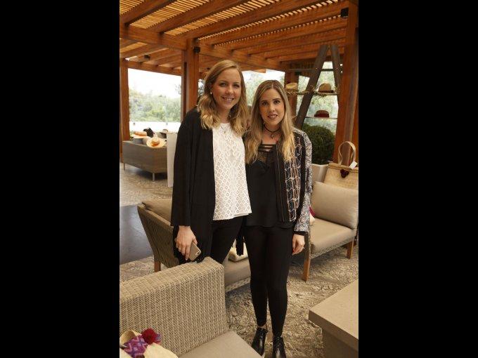 Lorenza Gutiérrez y Alejandra Salín