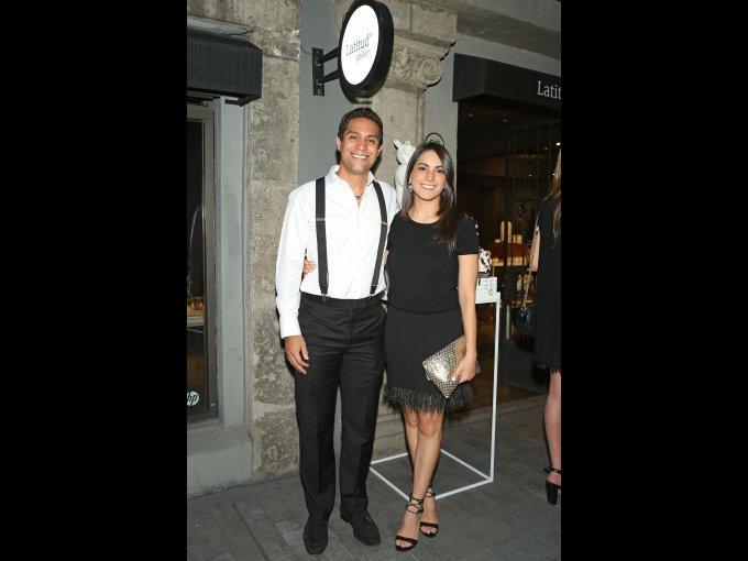 Gustavo Torres y Fernanda Ibarguengoitia