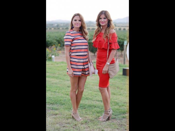 América y Ana Paola de la Parra
