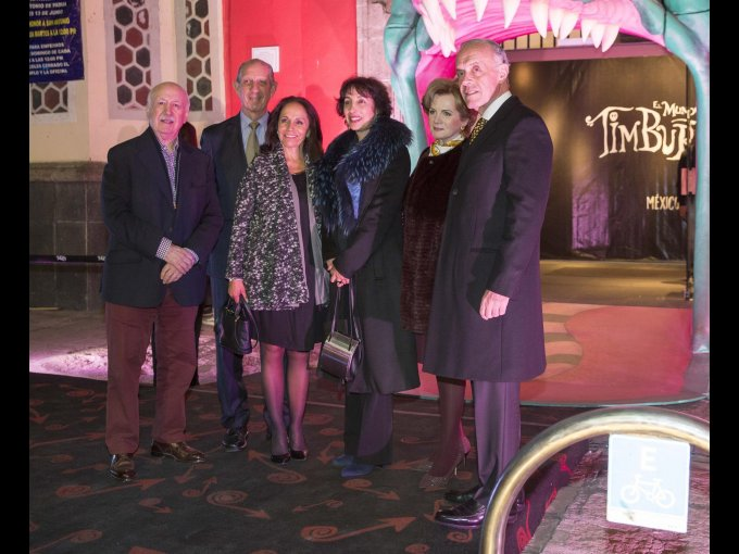 Bruno Newman, Rogerio Casas Alatriste, Cecilia Casas Alatriste, Patricia Agraz, Guadalupe Aspe y Enrique de Alba