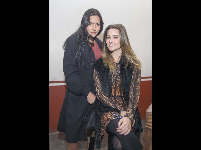 Eugenia de la Vega y Daniela Bustamante