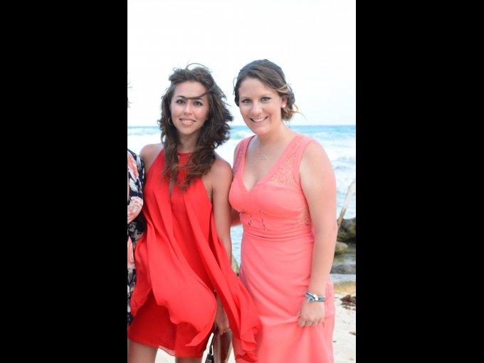Wendy Balcazar y Frida Arana