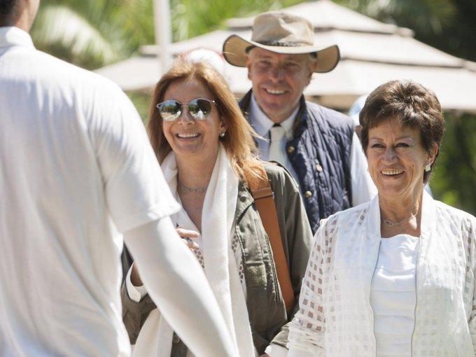 Marta Rivera Torres, Carlos Rivera Torres y María Emilia Enriquez