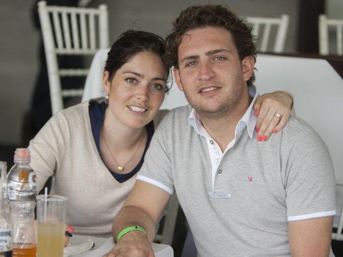 Andrea Fuentes y Chema Funtanet