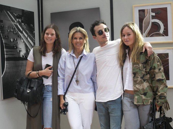 Ana Creel, Lulú Creel, Carlos Álvarez y Carlota Creel