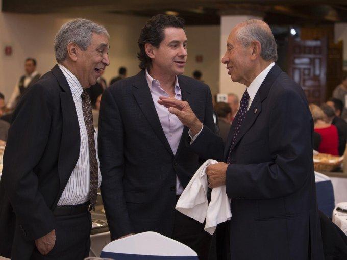 Ignacio Torres, Alejandro Ibarra y Eduardo López Sam Ricardo Nieto Irigoyen 14 DE JULIO