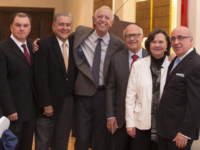Gerardo Ibarra, Jorge Marroquín, Juan Manuel Ruvalcaba, Jesús Ortiz Haro, Lucía Millán y José Antonio de Anda