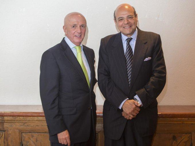 Manuel Compeán y José Pablo Vallejo