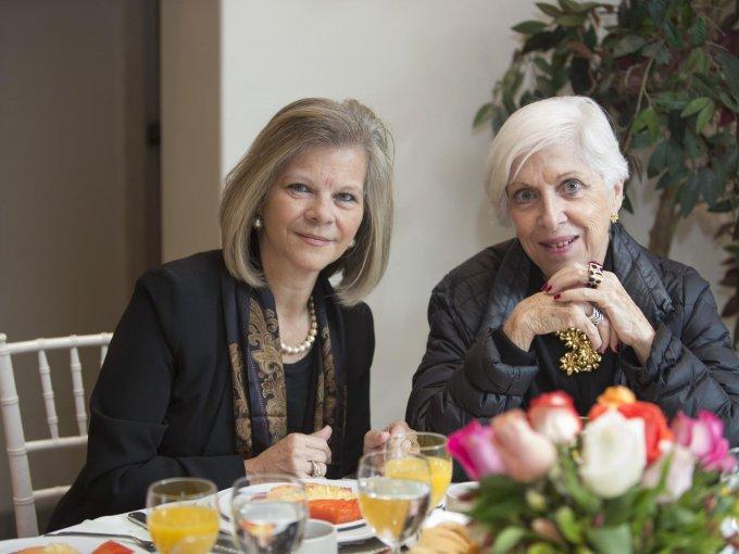 Lourdes López Zuckermann y Anna Fusoni