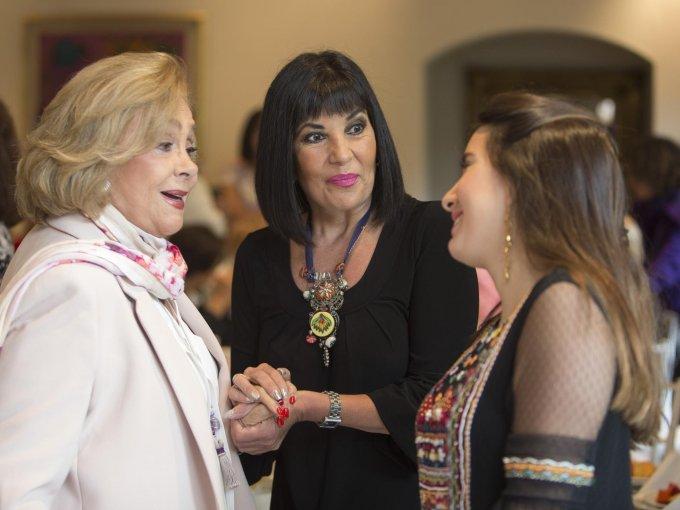 Carmen Valles Septién, Gina Ureta y Marisol Mora Tavares