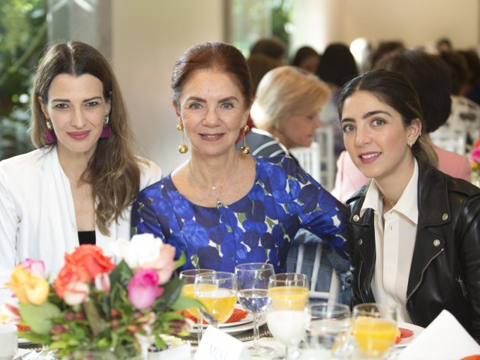 Aline Bortolotti, Lisette Trepaud y Lisette García