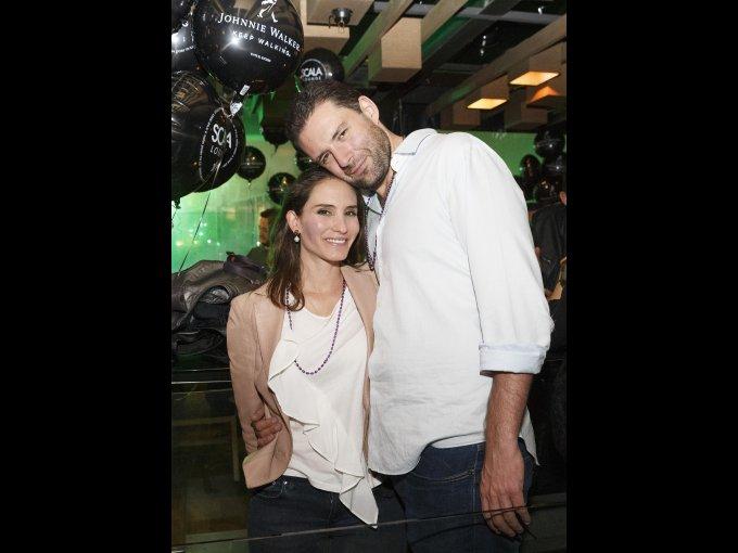 María Aramburu y Gonzalo Girault