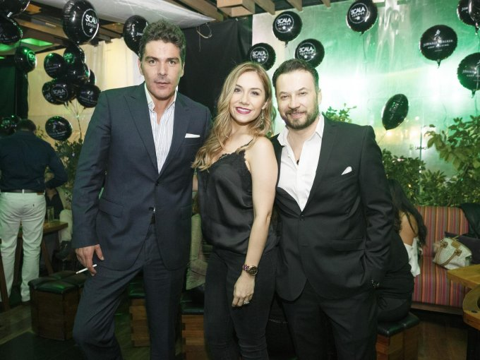 Gabriel Alatriste, Alba Haydeé Castro y Emanuel Román