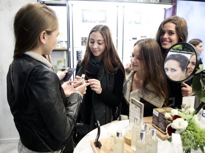 Lucila Aranda, Mariana Laris, Renata Ochoa y Fernanda Romano