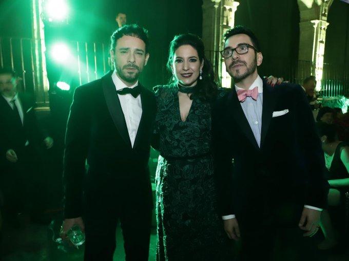 José Daniel Figueroa, Tiaré Scanda y Gabriel Ibarzábal