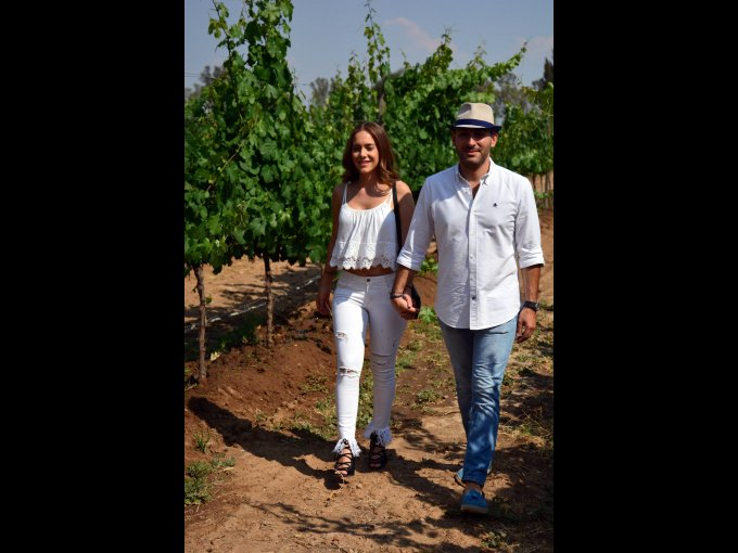Brenda Vega y Bernardo Peralta