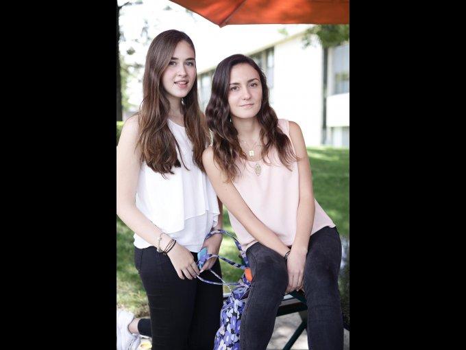Jimena Azuara y Ana Laura Mendirichaga