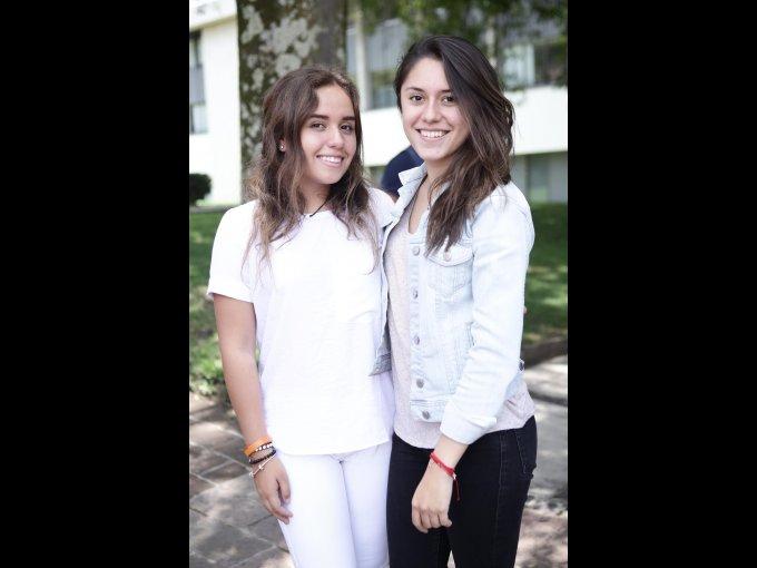 Ximena López y Andrea Chávez