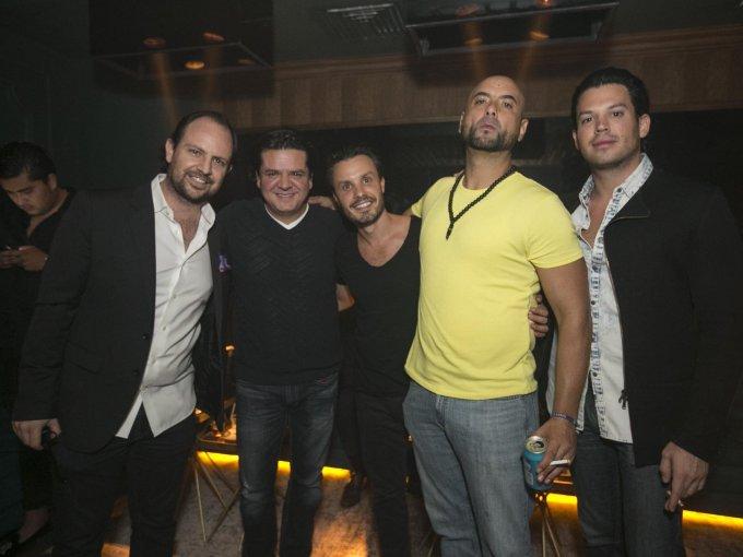 Fernando Carbajal, Alejandro Castillo, Javier Díaz, José Mach y Luis Mario Santana