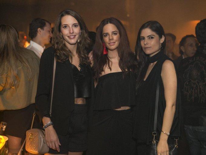 Mariana Quintero, Fernanda Luengo y Carla Toscano
