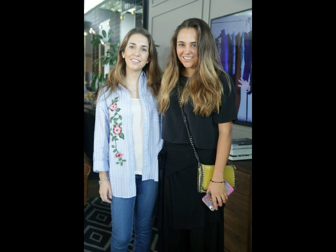 Macarena Saavedra y Paola Gutiérrez