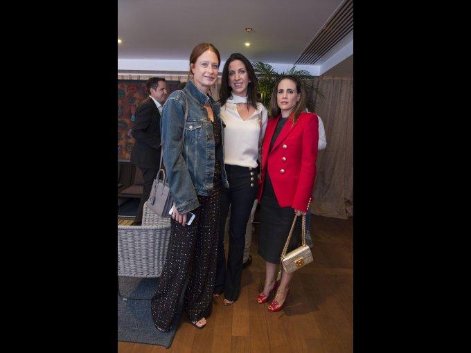 Zélika García, Lidia Elizondo y Raquel Juan Marcos