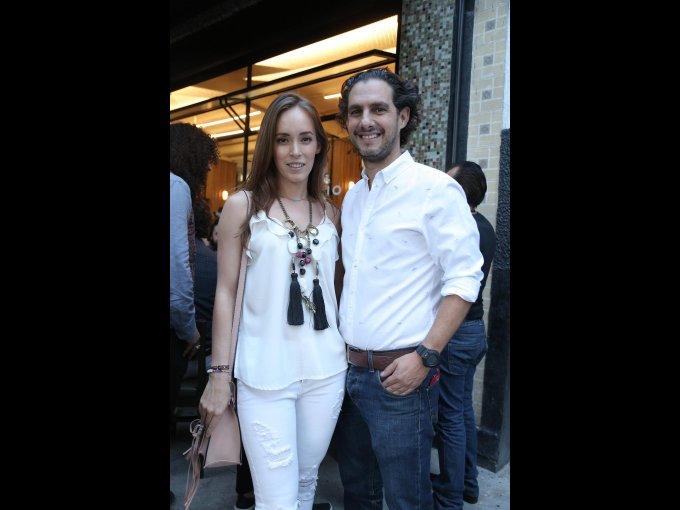 María José López y Miguel Lerdo