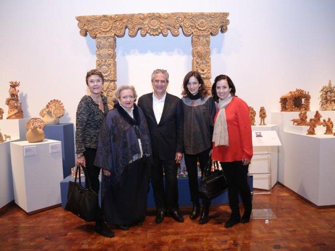 Cristina Gálvez, Cándida Fernández, Ernesto Torres, Juana Cuevas y Gigi Argüelles